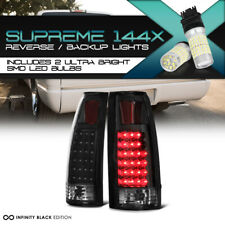 Full SMD Backup Matte Super Flux LED Tail Lamp 88-98 Chevy Truck Tahoe Yukon C10