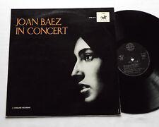 Joan BAEZ In concert FRENCH 60's LP AMADEO/VANGUARD AVRS 9114 - flipback cover