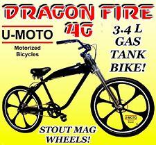 "Powerful 26"" Disc Brake Bike For 48Cc 66cc 80cc 2-Stroke Motorized Bike Kit"