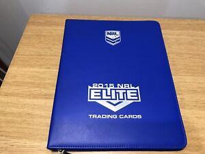 NRL 2014 ELITE CARDS PLUS ALBUM