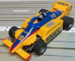 For H0 Slotcar Racing Model Railway Formula 1/Indy With Tyco Motor