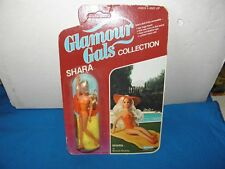 KENNER 80'S GLAMOUR GALS COLLECTION SHARA BRONZE BEAUTY SEALED ON CARD