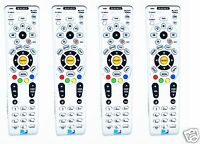 Lot Of 4-DIRECTV RC66RX RF IR Remote Control (S) W/Batteries  RC-66RX Direct TV