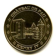 64 PAU Château, Henri IV, 2015, Monnaie de Paris