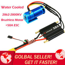 2862-2800KV Water Cooled Brushless Outrunner Motor+50A ESC For RC Boat Truck_CA