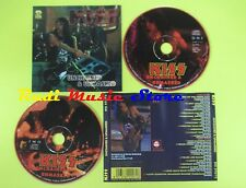 CD KISS Unchained & unmasked 1993 italy DOPPIO CD BIG MUSIC 072/73(Xs4)lp mc dvd