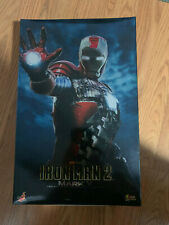 Hot Toys Iron Man 2 Mark V Box and Tray w/ Instructions Only NO FIGURE