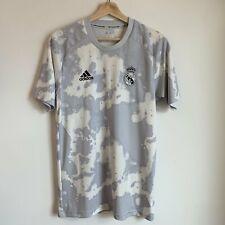 Adidas Real Madrid Gray Parley Soccer Football Training Jersey Small S