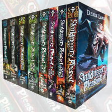 Skulduggery Pleasant Collection Derek Landy 8 Books Set Faceless Paperback New