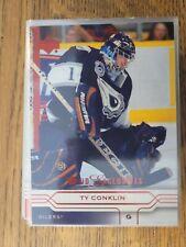 2004-05 Upper Deck Canadian Exclusives /50 73 Ty Conklin - Set Breakup