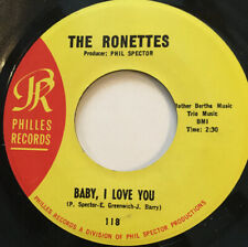 """The Ronettes - Baby I Love You - 7"""""""