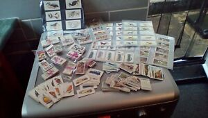 JOB LOT OF CIGARETTE CARDS,SETS & PART SETS,APPROX 850 CARDS,BETTER NOTED.G-VG.