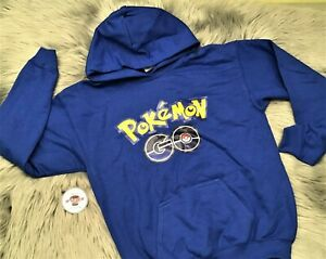 ❄🕸NEW. Pokemon Go-Kids Pullover Hoodie. XL🕸❄