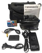Panasonic PV-D209D Video Palmcorder Cam/REC Videocassette VHS-C Tape LOT EUC