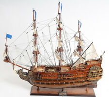 "Soleil Royal Wooden Tall Ship Model 36"" Sailboat Built Boat New"