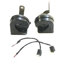 BMW MINI Horns Pair Low & High Tone / Pitch With Connectors & Wires 2006 -2016