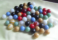 Vintage Lot of Colorful Glass Marbles LOOK