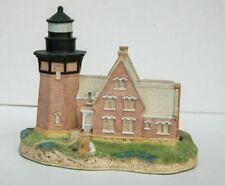 Harbour Lights Lighthouse Rhode Island #128 Retired Se Block Island 1991