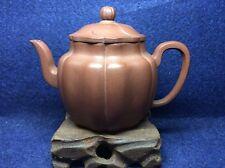 Chinese Old Yixing Zisha ZhiNi Di Chao Qing Teapot  - 260ml
