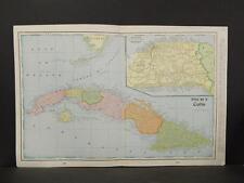 Cuba, Map, c.1901, Double Page, X1#30