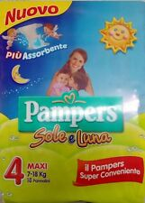 Pampers soleil et lune 18 couches taille 4 Maxi (7-18 Kg) super commode