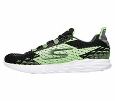 Skechers Men's Go Run Ride 5 Shoes - GREEN /BLACK TRACK SHOES LACE UP 9 D