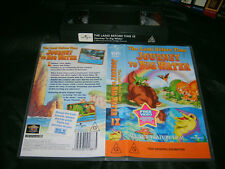 VHS *THE LAND BEFORE TIME 9 - Journey to Big Water* 2003 Universal Issue AS NEW