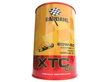 BARDAHL XTC C60 SAE 20W50 Lubrificanti Auto Olio Motore Benzina Diesel 1 LT