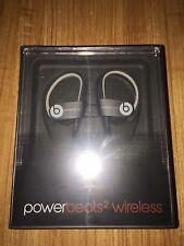 Dre Beats Powerbeats 2 Wireless Ear Hook Bluetooth Headphones - Black Sport