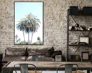 Framed Coastal Wall Art Framed Canvas - Ready To Hang