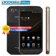 "5"" DOOGEE S30 IP68 Android 7.0 Quad Core 2+16GB Waterproof 4G Smartphone 5580mAh"