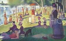 Sunday Afternoon on the Island of Grand Jatte Georges Seurat Art Print 11x14