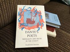 Dante's Poets: Textuality and Truth in the Comedy by Teodolinda Barolini Hardcov