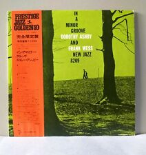 DOROTHY ASHBY & FRANK WESS  In a minor groove - rare Japan LP + OBI NM