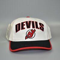 New Jersey Devils NHL Vintage 90's Twins Enterprise Adjustable Snapback Cap Hat