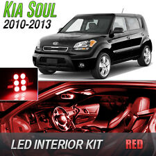 Red LED Lights Interior Kit for 2010-2013 Kia Soul