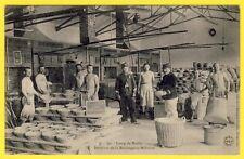 cpa CAMP de MAILLY (Aube) La BOULANGERIE MILITAIRE 1904 Fabrication du PAIN FOUR
