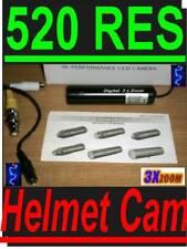 Sony 520 TV Line Color CCD Shot Bullet Cam Helmet Camera PAL KT&C Lipstick KAM
