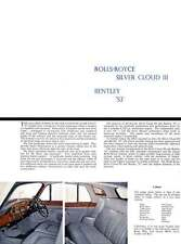 Rolls Royce 1963 - Silver Cloud III and Bentley S3