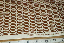 Moda Pezzy Print American Jane Quilt Fabric  21605-144 Brown