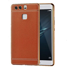 Synthetic Leather Fitted Cases for Huawei Mobile Phones