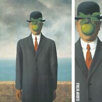 """20W""""x28H"""" THE SON OF MAN 1946 by RENE MAGRITTE - L'HOMME POMME CHOICES of CANVAS"""