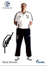 Huub Stevens FC Schalke 04 Fußball Autogramm original signiert AK TOP NEU A4 UH