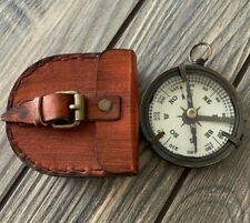 Solid Brass Nautical Pocket Compass Adventure Gift