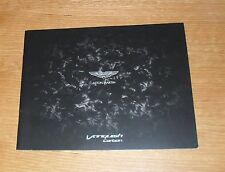 Aston Martin Vanquish Carbon Brochure 2014-2015 - Carbon Black Edition