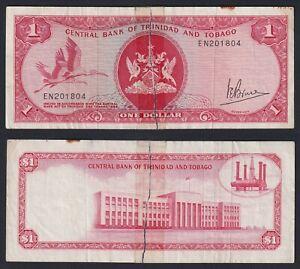 Trinidad and Tobago 1 dollar 1977 MB/F  A-04