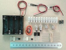 Choccy Block Alternate Flashing LED Light Flip-Flop Kit Of Electronic Parts