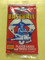 1988 Score Baseball Card Pack Jim Rice (Top) Robby Thompson (Back) Showing