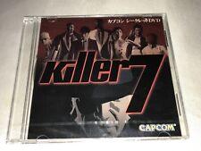 KILLER 7 NEW Capcom Promo Secret DVD Jap Playstation PS2 Gamecube Japan Import