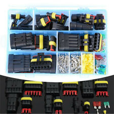 Car Electrical Wire Cable Connector 1-4Pin Way Plug&Blade Fuses Kit Waterproof